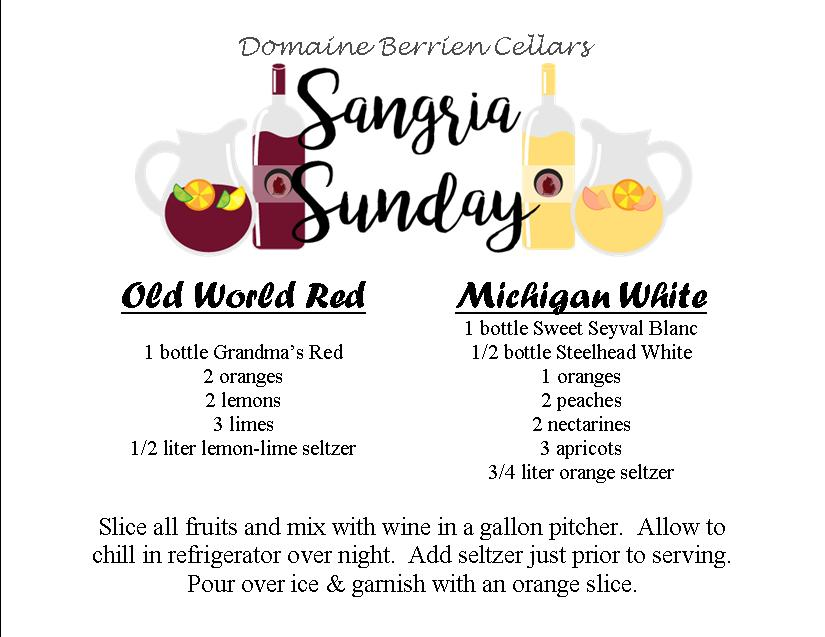 sangria recipe cards